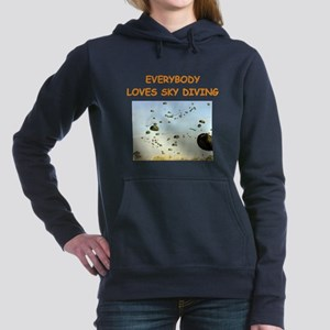 sky diving Hooded Sweatshirt