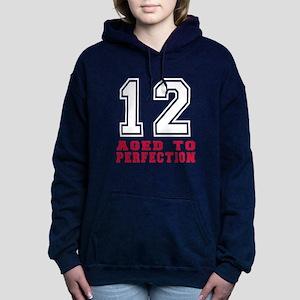 12 Aged To Perfection Bi Women's Hooded Sweatshirt