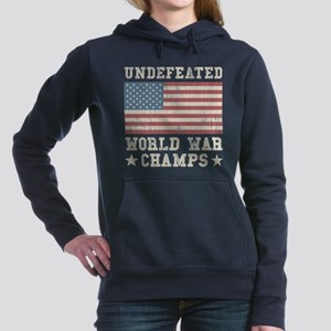 Undefeated World War Cha Women's Hooded Sweatshirt