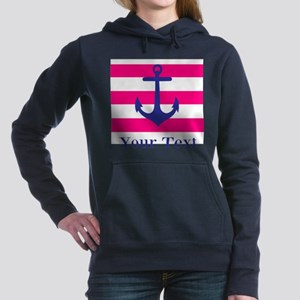 Personalizable Anchor Women's Hooded Sweatshirt