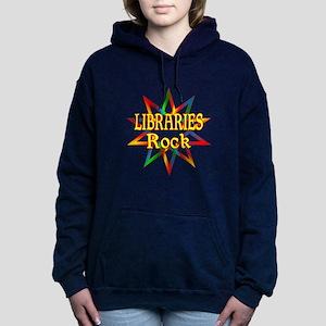 Libraries Rock Women's Hooded Sweatshirt