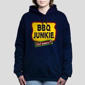 BBQ Junkie Women's Hooded Sweatshirt
