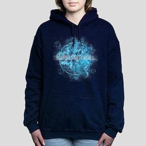 Supernatural Pentagram Women's Hooded Sweatshirt