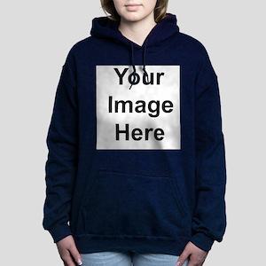 Personalised Women's Hooded Sweatshirt