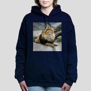 Lion_2014_1001 Women's Hooded Sweatshirt