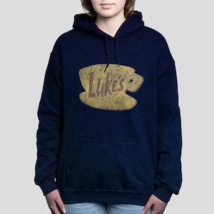 Vintage Gilmore Girls Lu Women's Hooded Sweatshirt
