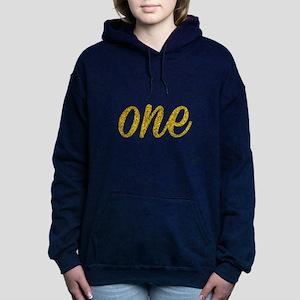 One Script Women's Hooded Sweatshirt