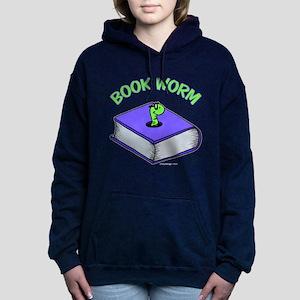 Book Worm Women's Hooded Sweatshirt