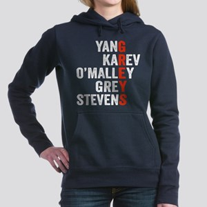 Grey's Anatomy Vertical. Women's Hooded Sweatshirt