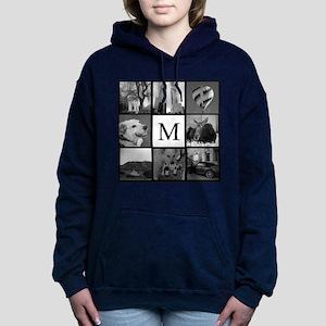 Monogrammed Photo Block Women's Hooded Sweatshirt