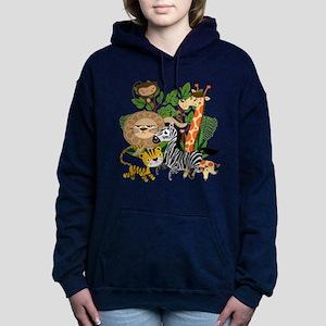 Animal Safari Women's Hooded Sweatshirt