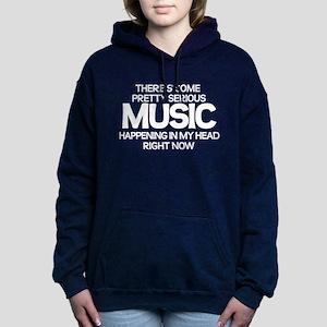 Serious Music Women's Hooded Sweatshirt