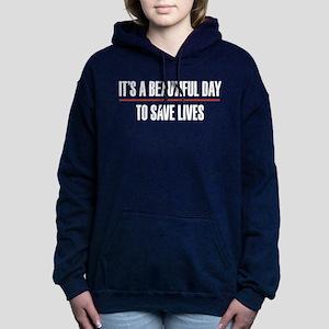 Grey's Anatomy It's A Be Women's Hooded Sweatshirt