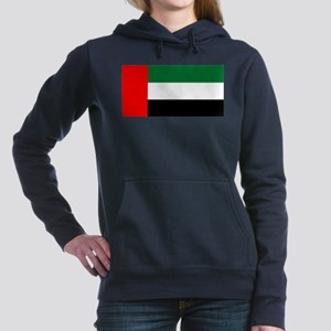 United Arab Emirates Flag Women's Hooded Sweatshir