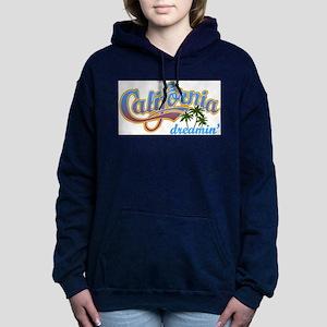 CALIFORNIA DREAMIN Women's Hooded Sweatshirt