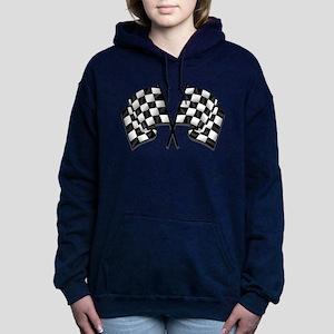 Chequered Flag Women's Hooded Sweatshirt