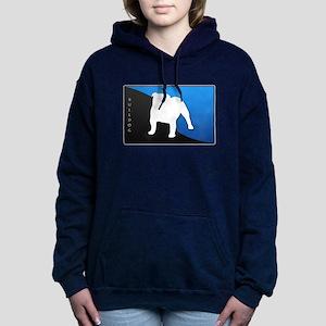 blueblack Hooded Sweatshirt
