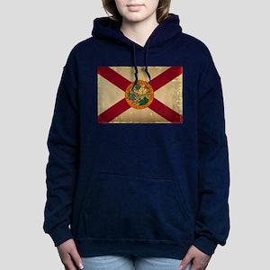 Florida State Flag VINTAGE Women's Hooded Sweatshi