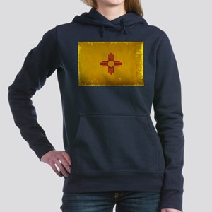 New Mexico State Flag VI Women's Hooded Sweatshirt