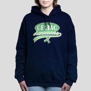 Celiac Disease Awareness quote Women's Hooded Swea