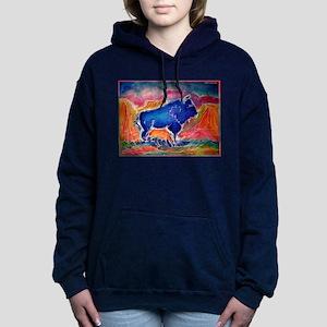 Buffalo, colorful, art! Sweatshirt