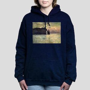 Claude Monet, Cliff Etre Women's Hooded Sweatshirt