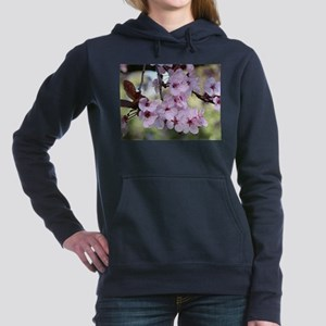 Cherry blossoms in sprin Women's Hooded Sweatshirt