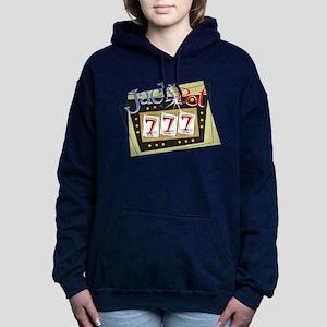 Jackpot 777 Women's Hooded Sweatshirt