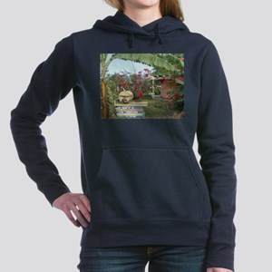 Jerk_Chicken_Stand_Negri Women's Hooded Sweatshirt