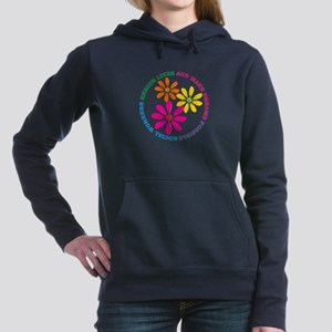 SOCIAL WORKER CIRCLE DAISIES Sweatshirt