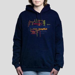 Basketball Word Cloud Hoodie Sweatshirt