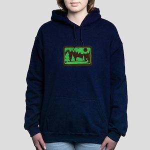 CAMPING Women's Hooded Sweatshirt