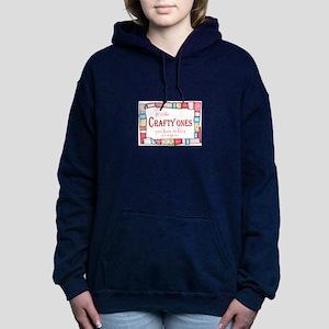QUILTING HUMOR Women's Hooded Sweatshirt
