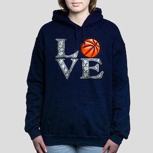 Love Basketball Women's Hooded Sweatshirt