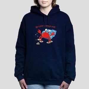 Average Crab Women's Hooded Sweatshirt