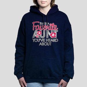 Favorite Aunt Women's Hooded Sweatshirt