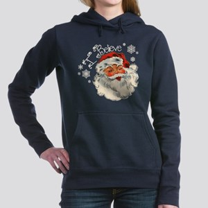 I believe in Santa Women's Hooded Sweatshirt