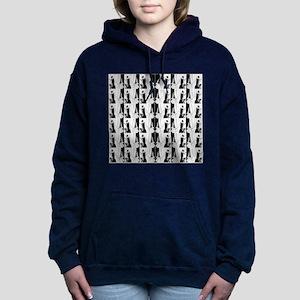 1920s flapper 2 Women's Hooded Sweatshirt