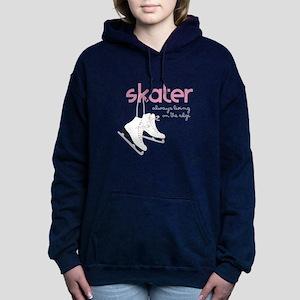 Living on the Edge Women's Hooded Sweatshirt