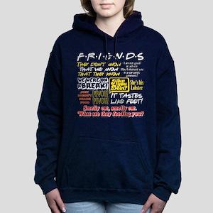 Friends Quotes Women's Hooded Sweatshirt