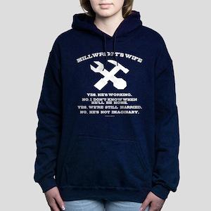 Millwright's Wife Women's Hooded Sweatshirt