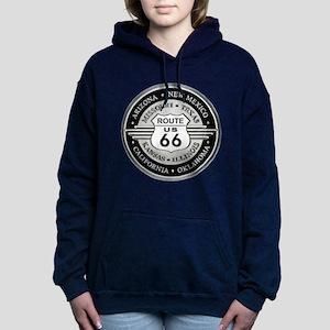 Route 66 states Women's Hooded Sweatshirt