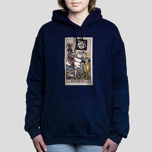 """""""Death"""" Women's Hooded Sweatshirt"""