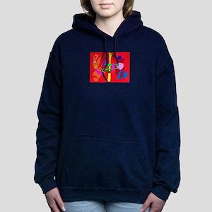 Kawaii Women's Hooded Sweatshirt