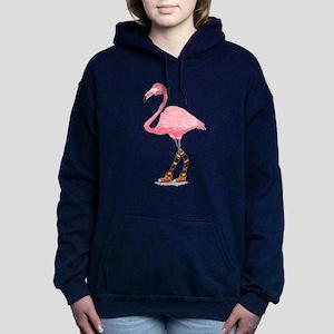 Styling Flamingo Women's Hooded Sweatshirt