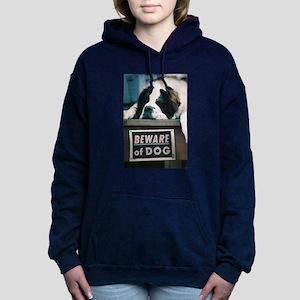 Beware of Dog Women's Hooded Sweatshirt