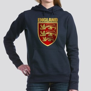 English Royal Arms Women's Hooded Sweatshirt