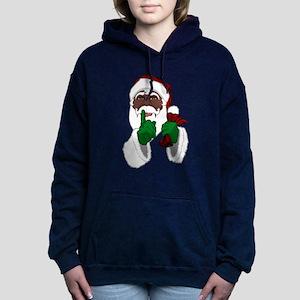 African Santa Clause Sweatshirt