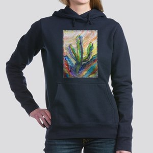Cactus, southwest art! Hooded Sweatshirt