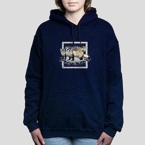 Ferrets Women's Hooded Sweatshirt